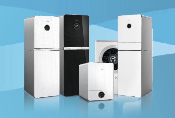 Bosch varmepumper og gasfyr